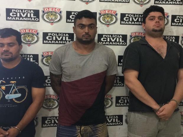 Criminosos estavam escondidos em um sítio no povoado Ferro Velho em Santa Luzia (MA) (Foto: Divulgação/SEIC)