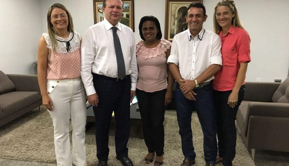 Em reunião com Brandão, Professor Stelio solicita novos benefícios para Pinheiro