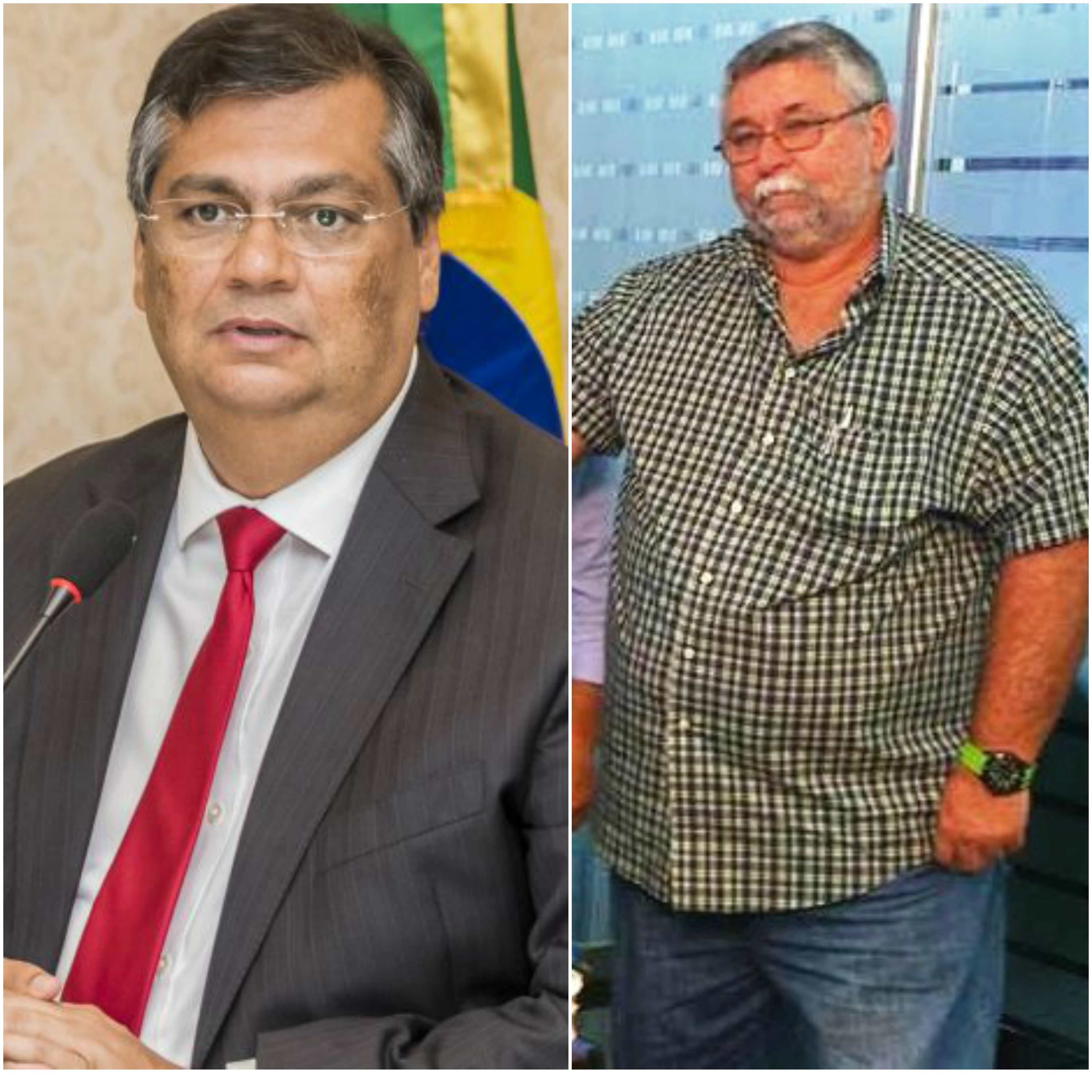 Flávio Dino e Fernandão Edeconsil na mira do MP.