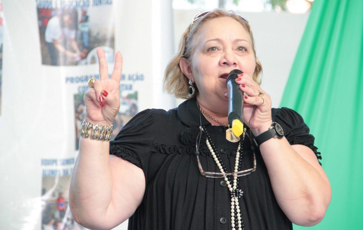 Ex-prefeita Bia Venâncio.