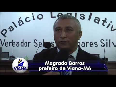 Prefeito Magrado Barros.
