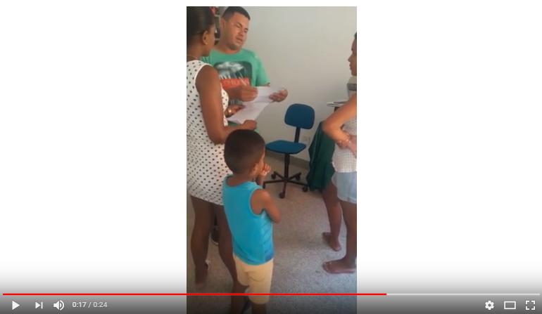 Diretor do Hospital, João Carlos, se nega a entregar atestado de óbito.