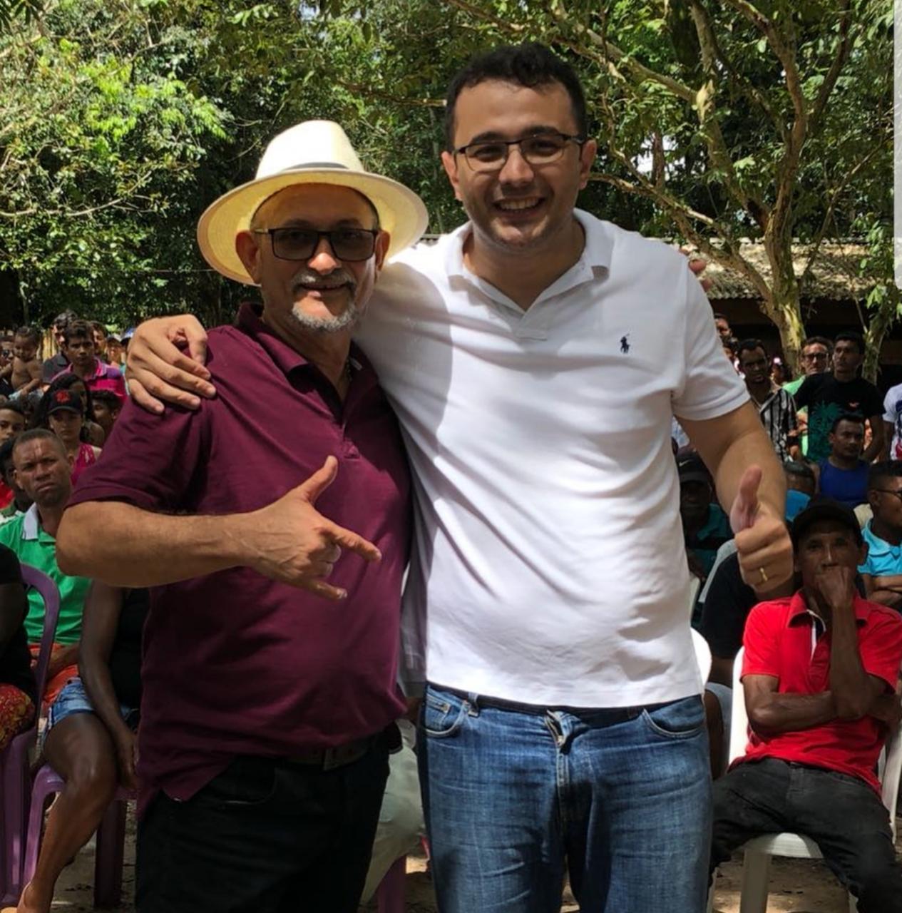 Empresário Edésio e Yglésio Moyses.