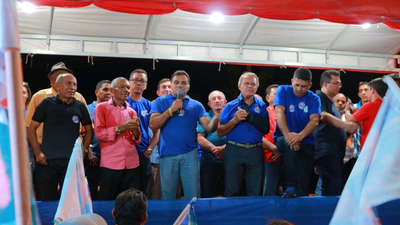 Ato político em Vitorino Freire-MA.