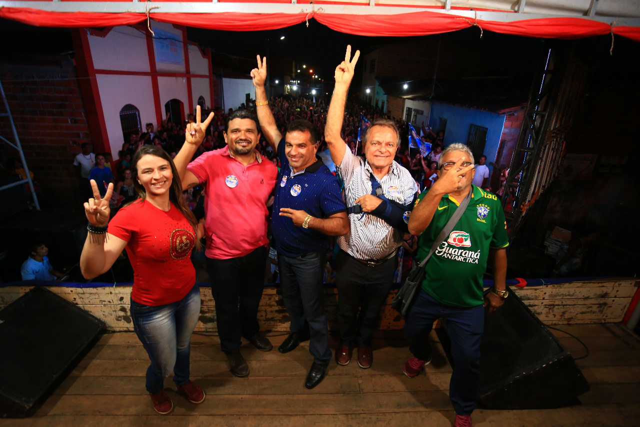 Rosário confirmou apoio à Hélio Soares e Josimar.